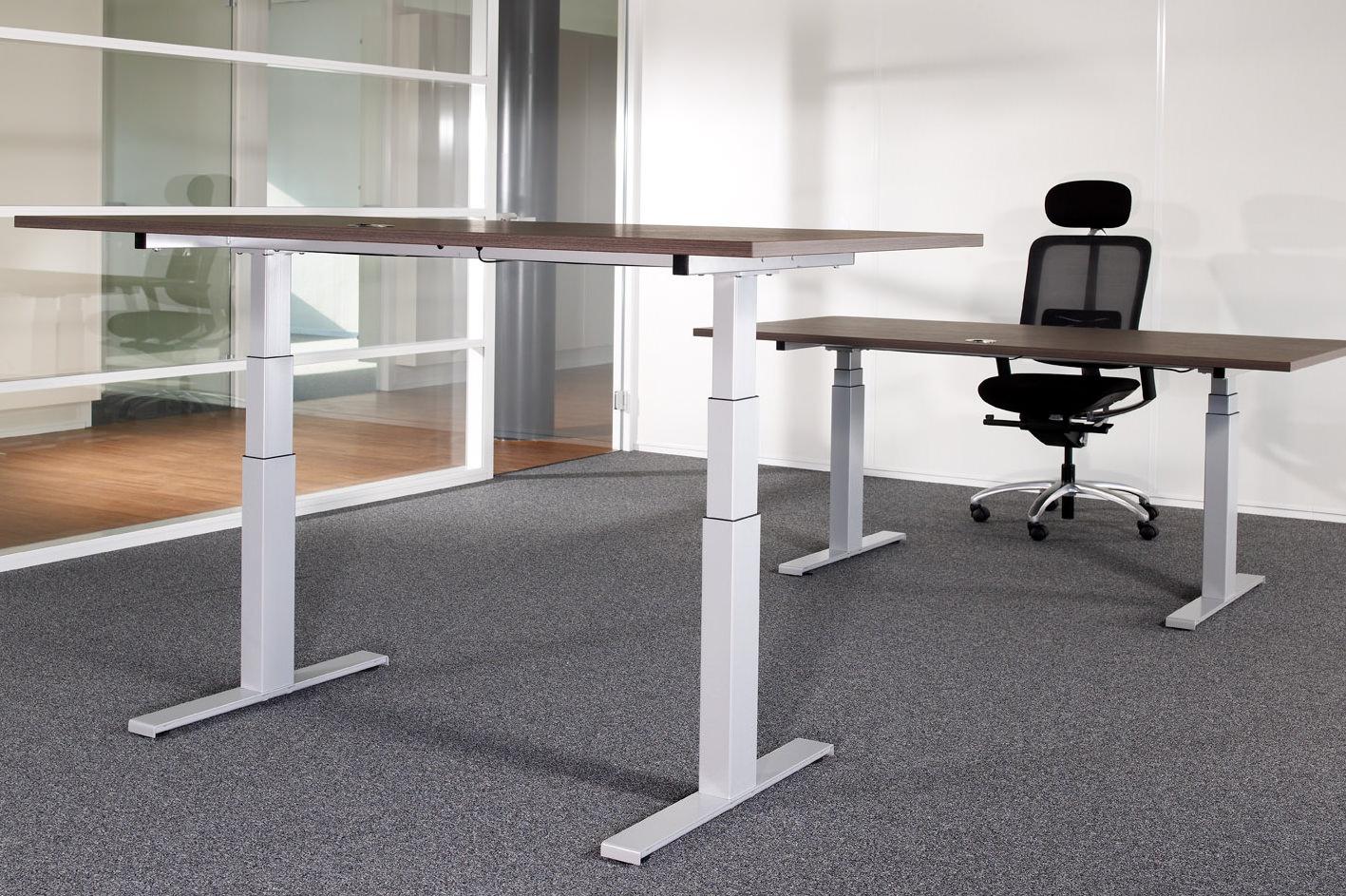 Het perfecte kantoormeubel het zit sta bureau bisk blog for Bureau zit sta