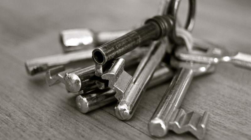 sleutel slot